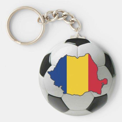 Romania national team keychain
