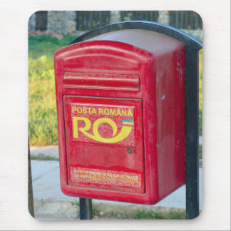 Romania, Post box in a village Mouse Pad