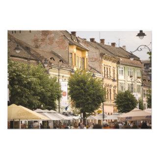 Romania Sibiu New Town RF Photographic Print