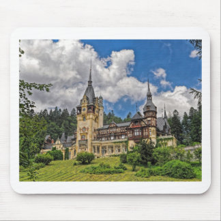 Romanian Castle Mouse Pad
