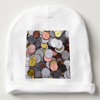 romanian coins baby beanie