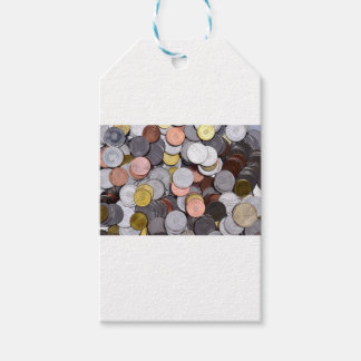 romanian coins gift tags