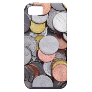 romanian coins iPhone 5 cover