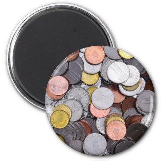 romanian coins magnet
