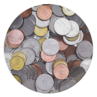romanian coins plate
