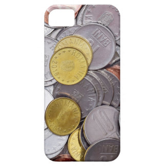 Romanian currency coins barely there iPhone 5 case