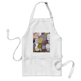 Romanian currency coins standard apron