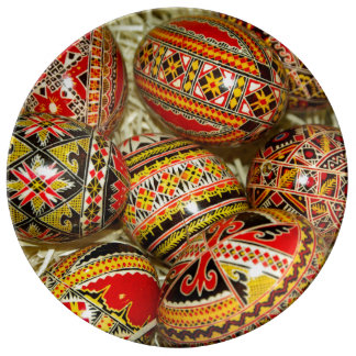 Romanian Easter Eggs Plate