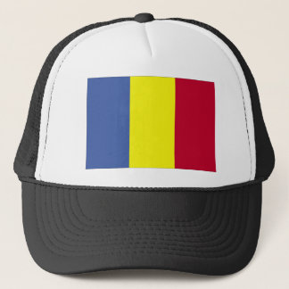 Romanian Flag Trucker Hat