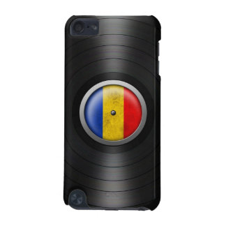 Romanian Flag Vinyl Record Album Graphic iPod Touch 5G Cover