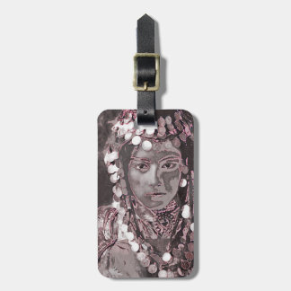 Romanian Gypsy Champagne Colors Bag Tag