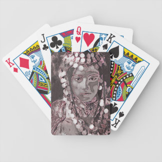Romanian Gypsy Champagne Colors Poker Deck