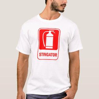 romanian language text fire extinguisher danger T-Shirt