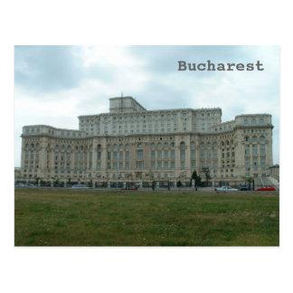 Romanian Parliament Postcard