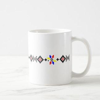 romanian popular motif folk symbol country rural r coffee mug