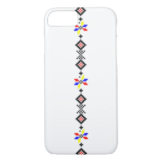 romanian popular motif folk symbol country rural r iPhone 8/7 case
