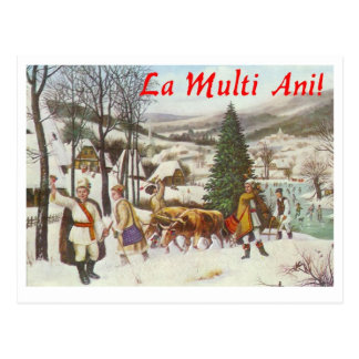 Romanian Postcard