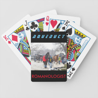 Romanologist Bicycle Playing Cards