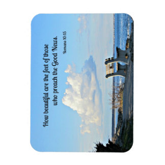 Romans 10:15 How beautiful are the feet... Vinyl Magnets