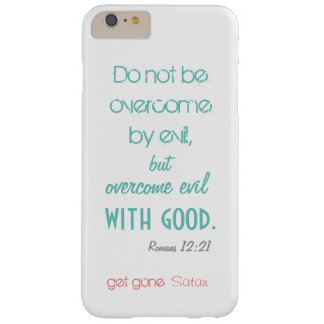 Romans 12:21 phonecase barely there iPhone 6 plus case