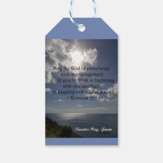 Romans 15:5 gift tags