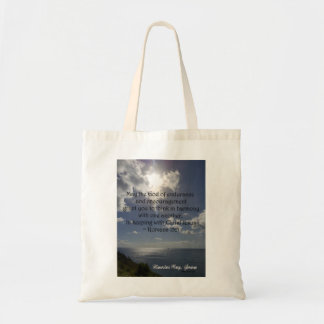 Romans 15:5 tote bag