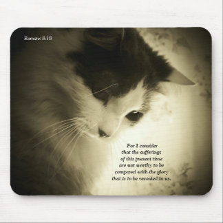 Romans 8:18 Glory Mouse Pad