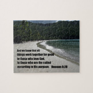 Romans 8:28 All things work together for good... Jigsaw Puzzle