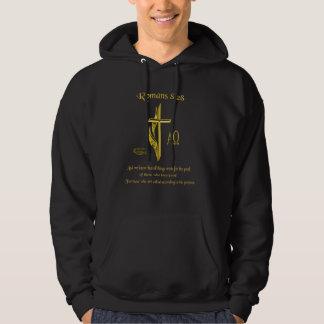 Romans 8:28 Christian merchandise Hoodie