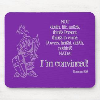 Romans 8:38 mousepad