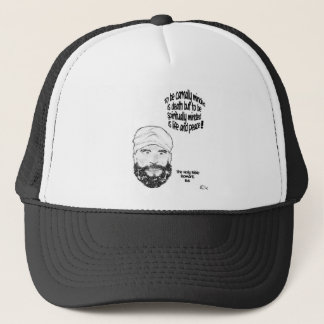 Romans 8 trucker hat