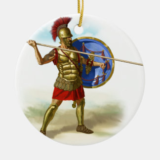 romans ceramic ornament