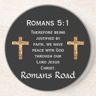 Romans Road, Romans 5:1 Coaster