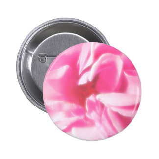 Romantic Abstract Rose Petals Pinback Button