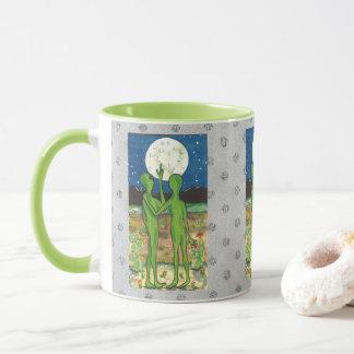 Romantic Aliens UFO Roswell Designer Humorous Mug