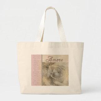Romantic Amore Jumbo Tote Bag