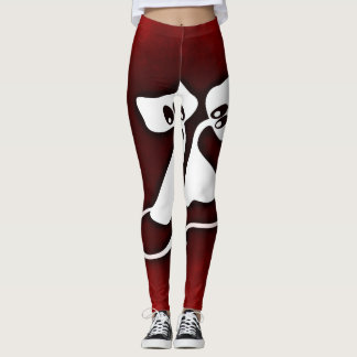 Romantic and Whimsy Cat lovers Leggings