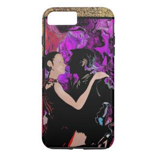 Romantic Art Deco style dancers iPhone 8 Plus/7 Plus Case