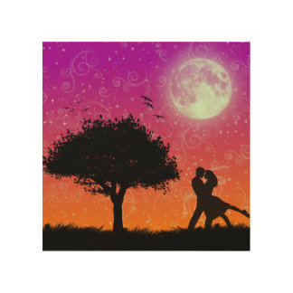 Romantic Art Design - Wood Wall Art