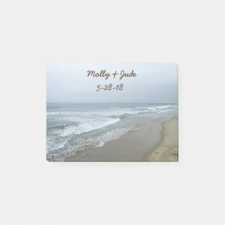 Romantic Beach Custom Post-it Notes