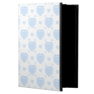 Romantic Blue & White Hearts Powis iPad Air 2 Case