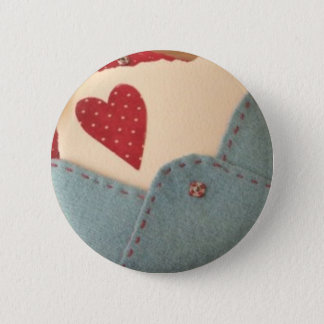 Romantic Botton 6 Cm Round Badge