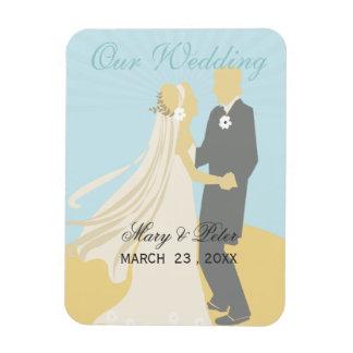 Romantic  Bride & Groom's Wedding Dance Magnet