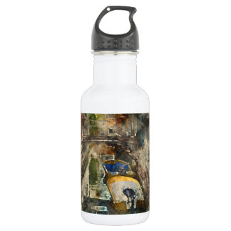 Romantic Canals of Venice Italy Watercolor 532 Ml Water Bottle