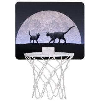 Romantic cats mini basketball hoop
