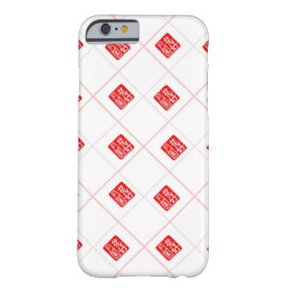 Romantic Chinese Stamp pattern Barely There iPhone 6 Case