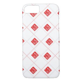 Romantic Chinese Stamp pattern iPhone 7 Case