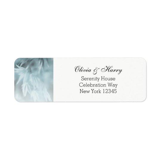 Romantic Country Wedding Return Address Labels