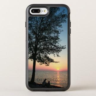 Romantic Couple Sunset Beach | Phone Case