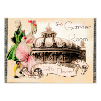 Romantic Couple with Paris Opera House Pack Of Chubby Business Cards
